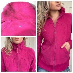 Lululemon High Collar Zip Up Sweatshirt Jacket 8